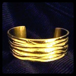 Rustic Cuff Gold Cuff